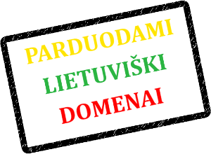 Parduodami Domenai